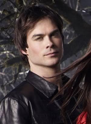 vampire diaries damon et elena photo